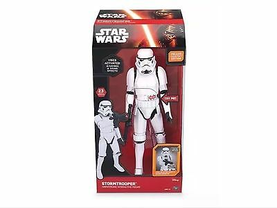 Star Wars: The Force Awakens Interactive Stormtrooper : FACTORY SEALED RRP 120
