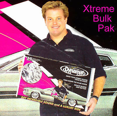 DYNAMAT EXTREME 10455 Bulk Pak Xtreme Pack 36 SQ Ft NEW