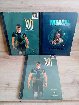 Lot 3 BD's XIII + Thorgal Edition spéciale / Tome 1+5 +3 / NEUF sous blister