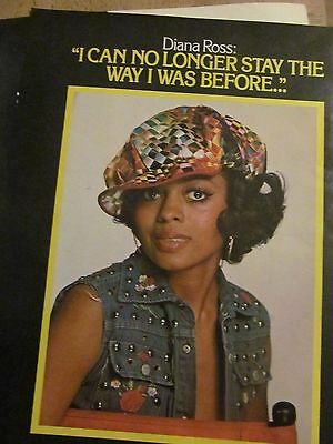 Diana Ross, Two Page Vintage Clipping