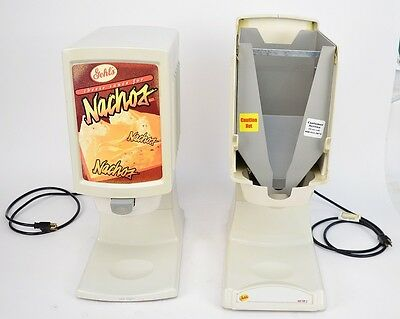 Lot of (2) Gehl's HT2 Hot Top 2 Nacho Cheese Sauce Dispensers