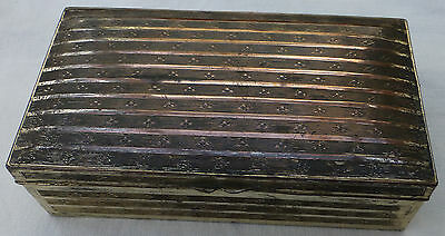 Vintage JAPANESE Silver Plated JEWELLERY BOX