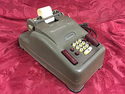 vintage Remington Rand model 93 vintage USA-made 10 key adding machine