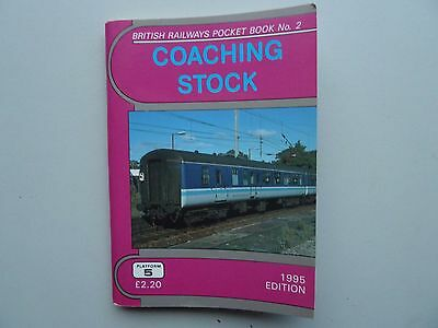 Platform 5 Coaching Stock pocket book 1995 Edition Unmarked/Unlined