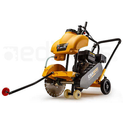 Concrete Road Saw - Cutter Tools Push Construction Petrol 7HP Wet