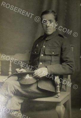 WW1 West Riding Regiment - Duke of Wellingtons - Private - Photo 15 by 10cm