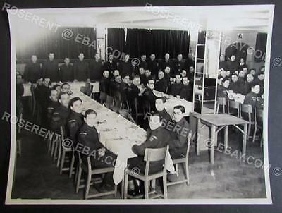 WW2 Blackpool Home Guard 11/7 - Group Meal - #2 Gazzette Press photo 21 by 16cm