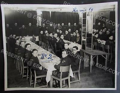 WW2 Blackpool Home Guard 11/7 - Group Meal - #1 Gazzette Press photo 21 by 16cm