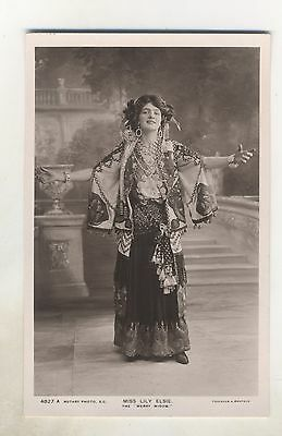 Edwardian Theatre Actress Miss Lily Elsie Pub Rotary Ref 4827 A Date Unknown