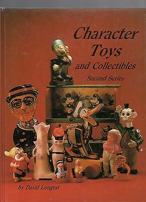 P600   Book  hardbound   Character Toys by Longest 254 pgs