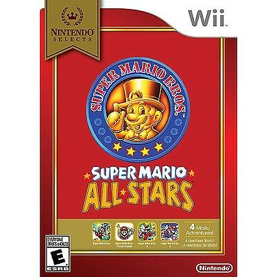 Nintendo Wii - Nintendo Selects - Super Mario All-Stars