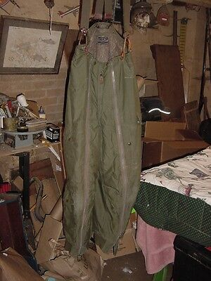 Vintage US Army Airforce Type A-11 Wool Lined Flight Pants Size 34