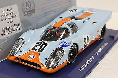 Fly A2005 Gulf Porsche 917 K Le Mans Limited Edition Serial # New 1/32 Slot Car
