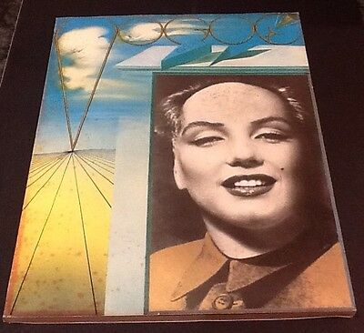 RARE 1971 Marilyn Mao French Vogue Magazine SALVADOR DALI SIGNED AND DATED