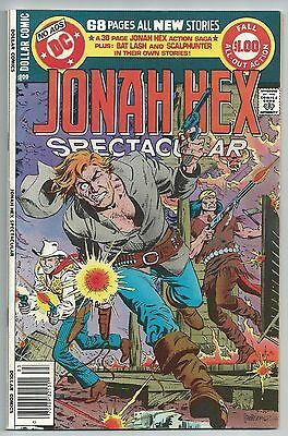 Jonah Hex Spectacular (Dc Special Series #16) - High Grade - Death Of Jonah Hex!