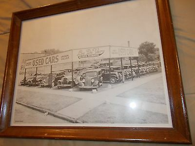 Desoto Plymouth Framed Picture 1930-1940's