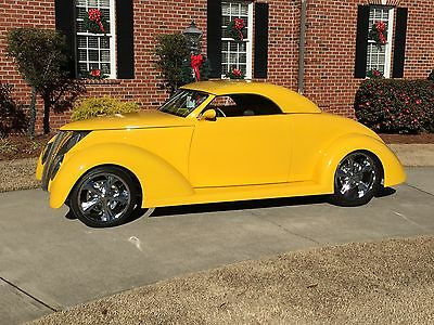 1937 Ford Other  1937 Ford Coupe Streetrod 2 door 3 window removable top Corvette engine