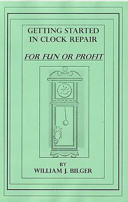 Getting Started in Clock Repair -How to CD - Book -