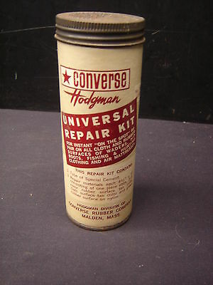 Old Converse Rubber Co.  Hodgman Universal Repair Kit Can