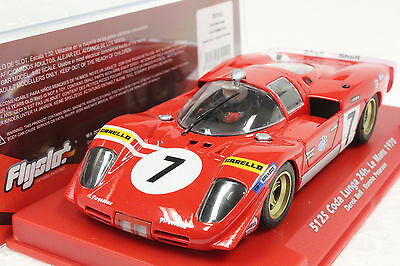 Fly 707103 Ferrari 512S Coda Lunga Le Mans 1970 Bell/peterson New 1/32 Slot Car