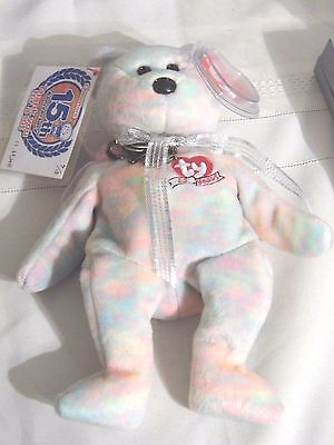 """Chou Store """"Celebrate"""" 15th Anniversary Bean Bag Toy 11/23/12 #7 of only 15 made"""