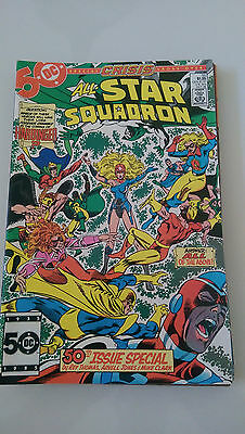 All-Star Squadron #50 (1985) Dc Comics Giant-Sized Crisis Cross-Over Anniversary
