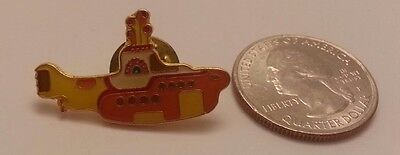 The Beatles YELLOW SUBMARINE Cloisonne Hat Pin