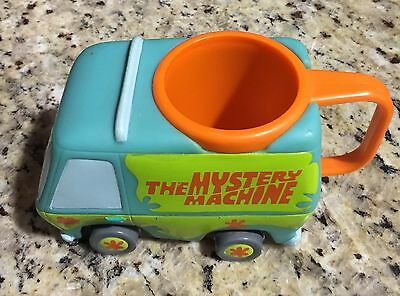 Warner Bros. SCOOBY-DOO Promotional MYSTERY MACHINE Plastic Mug