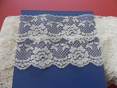 13.75 Metres of New Lace - Double Bone