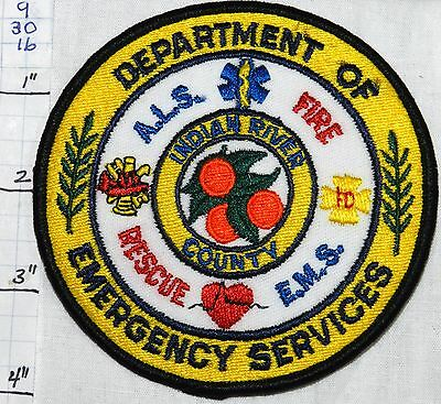 Florida, Indian River County Fire Ems Rescue Patch