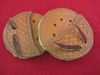 Custom Made Western Cinch Ring Covers With Fleece Backing