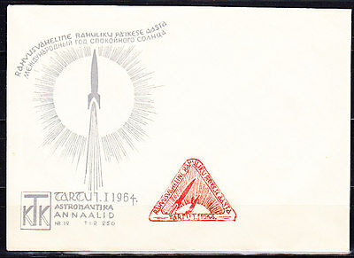 Soviet Space Cover 1964 Year of Sun