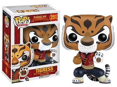 Funko Pop Movies Kung Fu Panda Tigress Vinyl Action Figure Collectible Toy, 4563