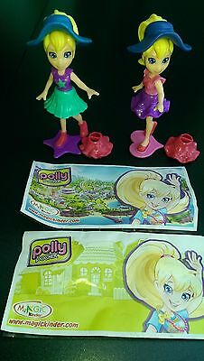 Maxi Polly Pocket 2015, complete set with all Bpz.