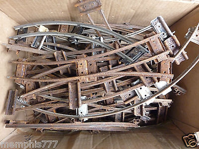 HORNBY Vintage O GAUGE Train TRACK Curves x10