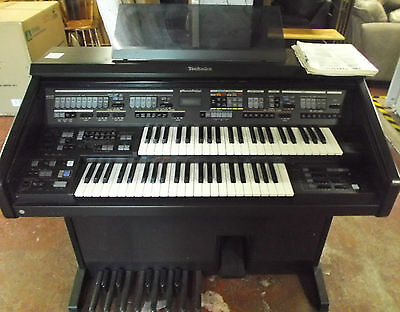 Retro TECHNICS SX-EX60 88 Key Electric / Digital Upright Organ / Keyboard - S81