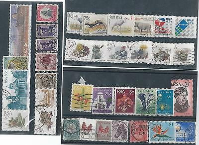 South Africa Used Stamp Collection