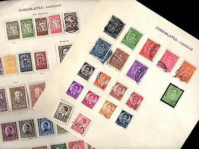 Stamps (70+) ~ YUGOSLAVIA / JUGOSLAVIA ~ Mix UNSORTED Unchecked