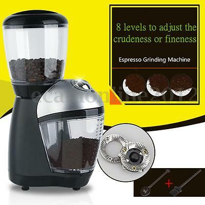 200W Electric Automatic Nut Spice Coffee Bean Mill Grinder Maker Blender Machine