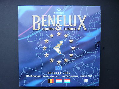 Serie FDC Benelux 2007