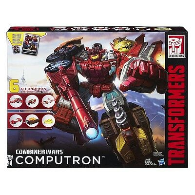 Transformers Generations Combiner Wars Computron Gift Set & Custom G1 Style Head