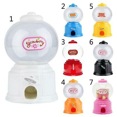 Sweet Candy Machine Bubble Gumball Dispenser Coin Box Piggy Bank Kids Toy Gift