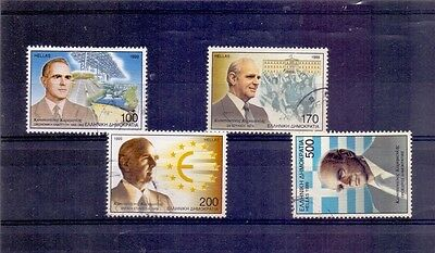 Greece Used  Set  Stamps  Euro 1999