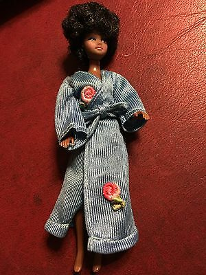 Vintage Pippa Mandy Doll In Dressing Gown/Housecoat Both In Excellent Condition