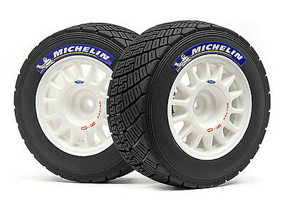 HPI Wr8 Rally Off-road Wheel/tire Set (white/2pcs) #113850