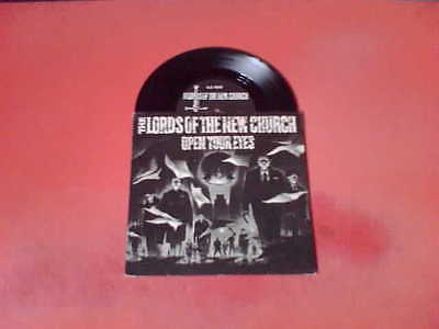 "THE LORDS OF THE NEW CHURCH Open Your Eyes 7"" Vinyl! Dead Boys Damned"