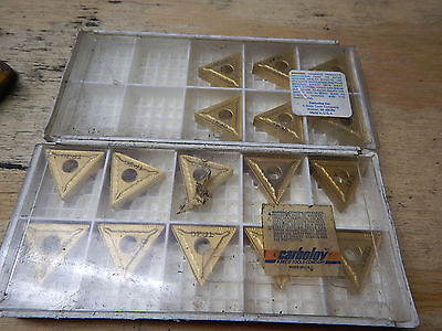New Old Stock Seco Tp30 Tnmg270608-M5 Carbide Inserts Metal Lathe