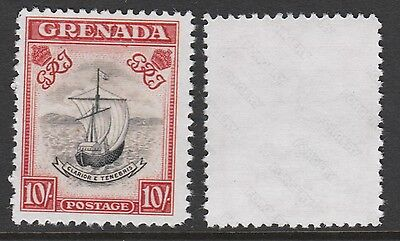 Grenada (901) 1938 KG6 Badge of Colony 10s - a Maryland FORGERY unused