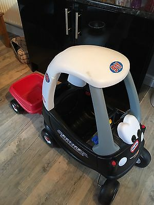 Little Tikes Cosy Coupe Police Car, Trailer & Petrol Pump