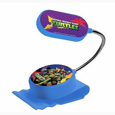 Official Teenage Mutant Ninja Turtles Clip On Bed Light Kids Bedroom Free P+P